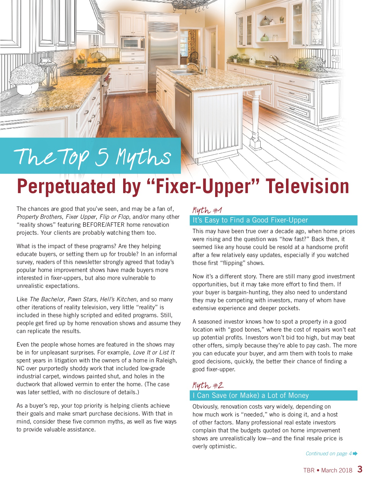 """Top 5 Myths Perpetuated by """"Fixer-Upper"""" Television"""